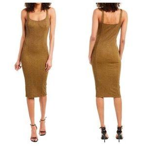 Capulet Lola Bustier Bodycon Midi Dress Size S NWT